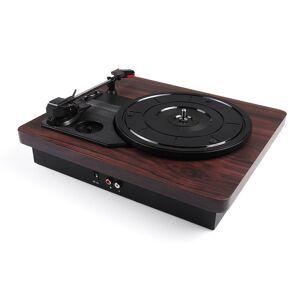Antique Retro Record Player 33RPM Antique Gramophone Turntable Disc Vinyl Audio RCA R/L 3.5mm USB DC 5V Gramophones