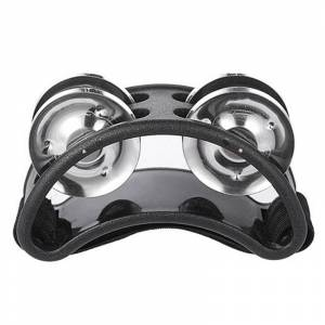 1pcs Foot Tambourine Jingle Bell Metal Jingles Ball Percussion Musical Drum Companion Accessories Musical Instrument