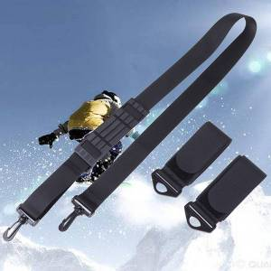 Hand-held Nylon Skiing Strap Adjustable Snowboard Ski Shoulder Strap Skiing Handle Strap Bags Skiing Accessories