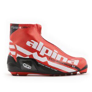 Alpina CCL+ Maraton skisko 19/20 Rød/Hvit/Sort (AL5139) 45 2018