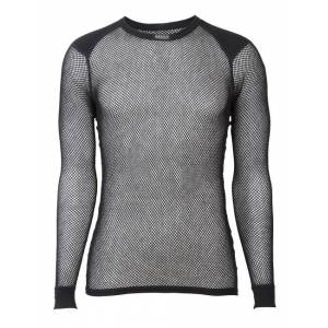 Brynje Wool Thermo LS Shirt W/inlay Unisex Svart XL 2018