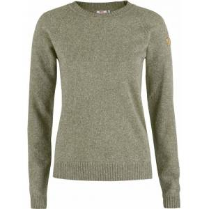 Fjällräven Övik Re-Wool Sweater dame 64/Frost Green M 2018