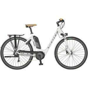 Scott Sub Tour eRide 10 Unisex El-sykkel 2019 Hvit M 2019