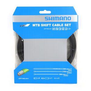 Shimano Girwiresett Optislick Svart (Y60198090) 2020