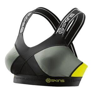 SKINS DNAmic Womens Speed Crop Top - Black/Yellow * Kampanje *