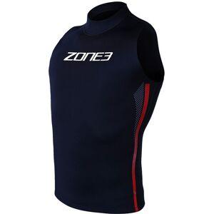 Zone3 Warmth Neopren Vest black/red/white L 2021 Triathlondrakter & Våtdrakter