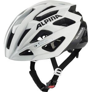 Alpina Valparola Helmet white-black 55-59cm 2020 Racerhjelmer