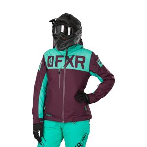 FXR Jakke Dame FXR Helium FX Plum-Mint