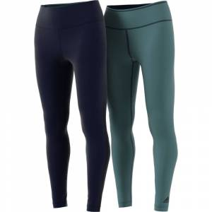 Adidas Tights Reversible - Legend Ink / Raw Green