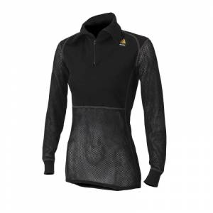 Aclima Woolnet Polo With Zip Women's Sort