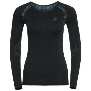 Odlo Women's Shirt L/S Crew Neck Essentials Sort
