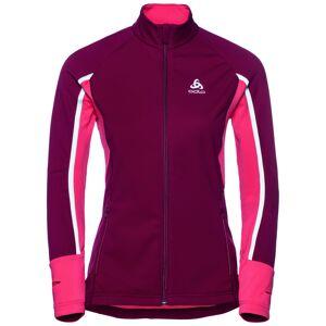 Odlo Women's Jacket Aeolus Pro Warm Rød