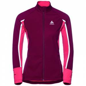 Odlo Women's Jacket Aeolus Pro Warm Rød