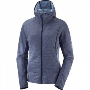 Salomon Right Nice Mid Hoodie Women's Rød