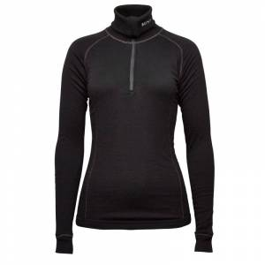 BRYNJE Lady Arctic Zip Polo with Thumbfingergrip Sort