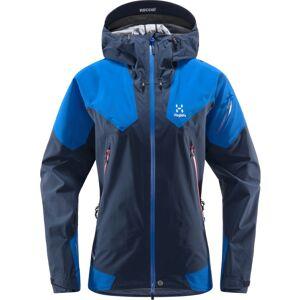 Haglöfs Roc Spire Jacket Women Blå