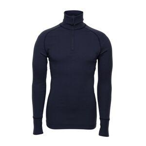 BRYNJE Arctic Zip Polo Shirt with Thumbfingergrip Blå