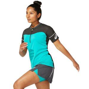 Asics Women's Fujitrail Top Blå