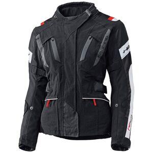 Held 4-Touring Ladies tekstil jakke Svart Hvit 3XL