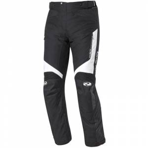 Held Salerno Gore-Tex Ladies motorsykkel tekstil bukser Svart Hvit S