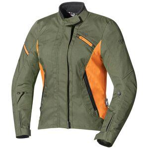 IXS Alana Ladies tekstil jakke Grønn Oransje L