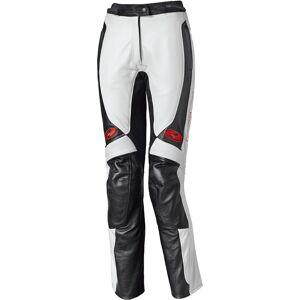 Held Sarana Kvinners Motorsykkel skinn bukser Svart Hvit 46