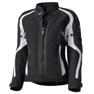 Held Toshi Ladies motorsykkel tekstil jakke Svart Hvit XS