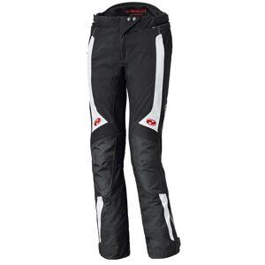 Held Nela Ladies tekstil bukser Svart Hvit 4XL