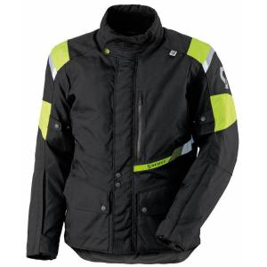 Scott Turn Pro DP Tekstil jakke Svart Gul M