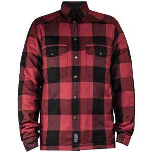 John Doe Moto Skjorte Rød S