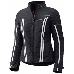 Held Jill Ladies tekstil jakke Svart Hvit 2XL
