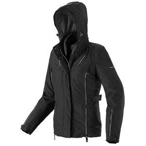 Spidi Stormy H2Out Ladies motorsykkel tekstil jakke Svart Grå S