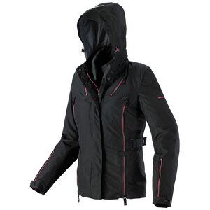 Spidi Stormy H2Out Ladies motorsykkel tekstil jakke Svart Rosa M