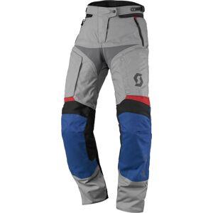 Scott Dualraid DP Ladies motorsykkel tekstil bukser Grå Blå 46