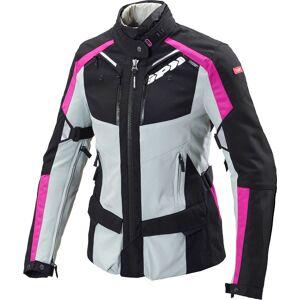 Spidi 4Season Ladies motorsykkel tekstil jakke Svart Rosa XS