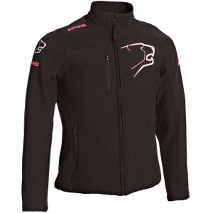Bering BSG026 Lady Softshell jakke Svart Rosa 36