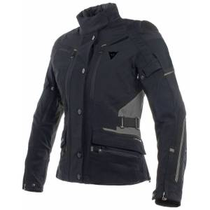 Dainese Carve Master 2 GoreTex Ladies motorsykkel tekstil jakke Svart 44