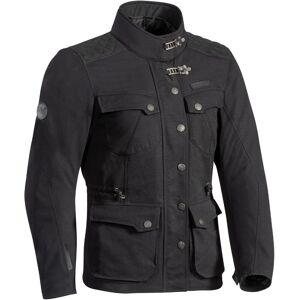 Ixon Exhaust Ladies motorsykkel tekstil jakke Svart L