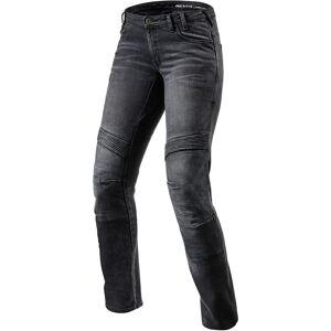 Revit Moto Ladies motorsykkel Jeans Svart 26
