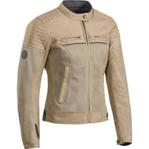 Ixon Filter Ladies motorsykkel tekstil jakke Beige XL