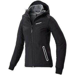 Spidi Hoodi Armor Kvinner motorsykkel tekstil jakke Svart Hvit L