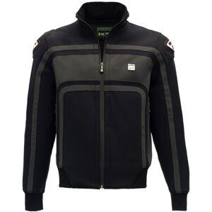 Blauer Easy Rider Ladies motorsykkel tekstil jakke Svart Grå M