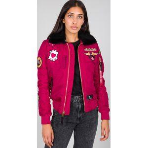 Alpha Industries Injector III Custom Ladies Jacket Rosa L