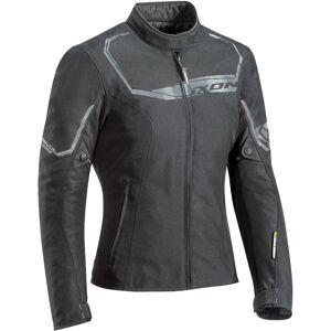 Ixon Challenge Ladies motorsykkel tekstil jakke Svart M