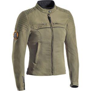 Ixon Breaker Ladies motorsykkel tekstil jakke Grønn Brun 2XL
