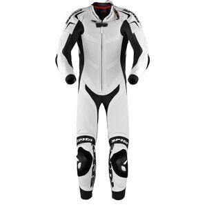 Spidi Replica Piloti Wind Pro Ett stykke Motorsykkel skinn Dress 56 Svart Hvit
