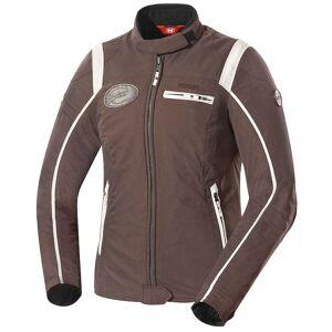 IXS Ridley Ladies tekstil jakke XL Hvit Brun