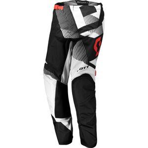 Scott 350 Dirt Motocross bukser 2018 28 Svart Hvit