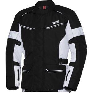 IXS Tour Evans-ST Ladies motorsykkel tekstil jakke 2XL Svart Hvit