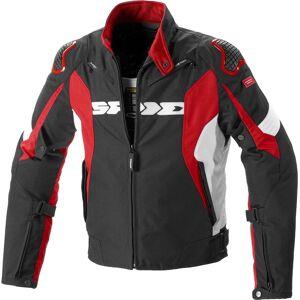 Spidi Sport Warrior H2Out Motorsykkel tekstil jakke L Svart Rød
